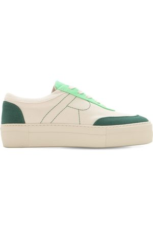 """REJINA PYO Sneakers """"bailey"""" De Lona De Algodón 30mm"""