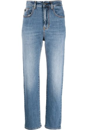 Palm Angels INDACO STRAIGHT LEG 5 POCKETS MEDIUM BLU
