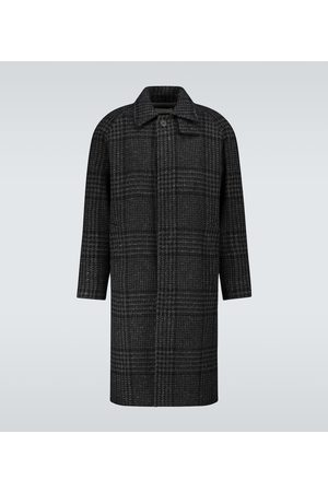 Éditions M.R Mac hunting checked coat