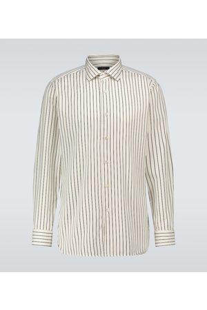 THE GIGI Long-sleeved striped shirt