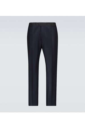 Tom Ford Atticus drawstring wool pants