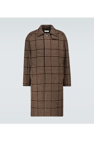 Éditions M.R Mac checked hunting coat
