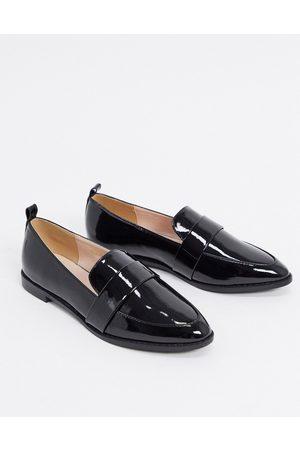 Raid Norah flat shoes in black patent