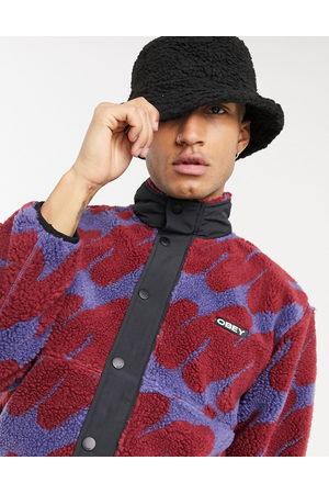 ASOS Bucket hat in black borg