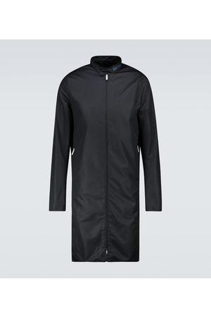 RAF SIMONS Slim-fit zipped nylon coat