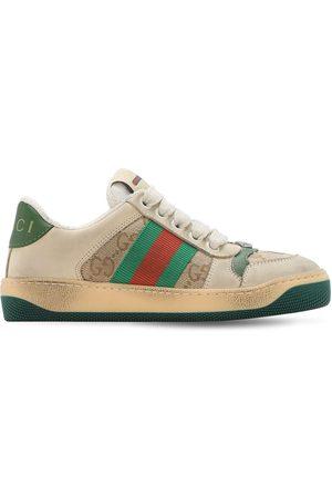 Gucci Sneakers De Lona Gg Y Tribanda
