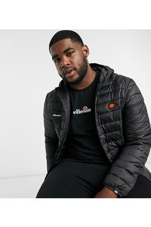 Ellesse PLUS padded lombardy jacket in black