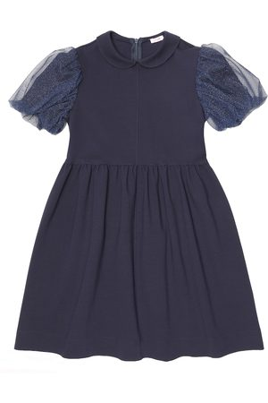 Il gufo Tulle-trimmed dress