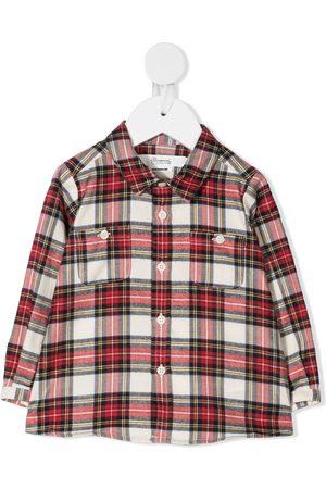 BONPOINT Camisa a cuadros