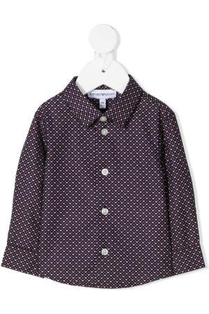 Emporio Armani Camisa con botones y logo