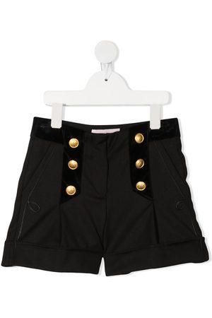 Alberta Ferretti Pantalones cortos con detalle de botones