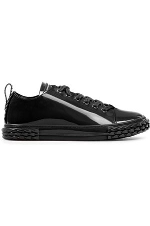 Giuseppe Zanotti Patent leather low-top trainers
