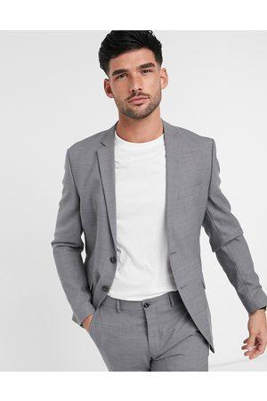 Jack & Jones Premium slim fit suit jacket in light grey