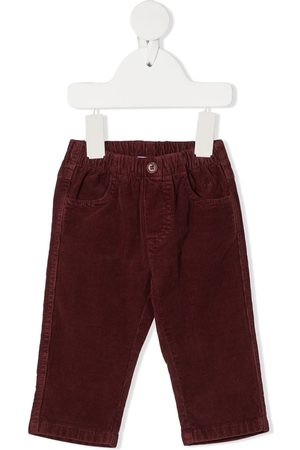 Il gufo Corduroy straight trousers
