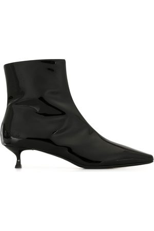 Msgm Mujer Botas altas - High-shine finish ankle boots