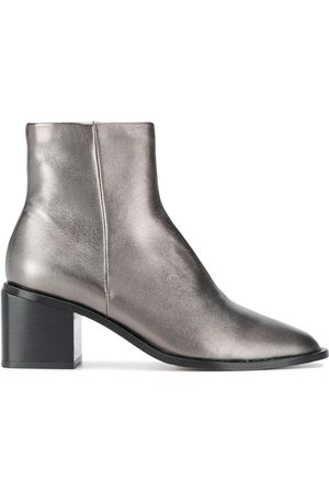 Robert Clergerie Xenia metallic ankle boots
