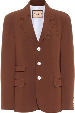 Plan C Single-breasted blazer