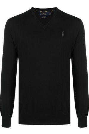 Polo Ralph Lauren Hombre Suéteres cerrados - Logo embroidered cotton jumper