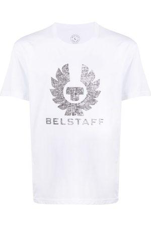 Belstaff Playera con logo estampado
