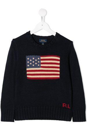 Ralph Lauren Niña Tops - Flag print jumper