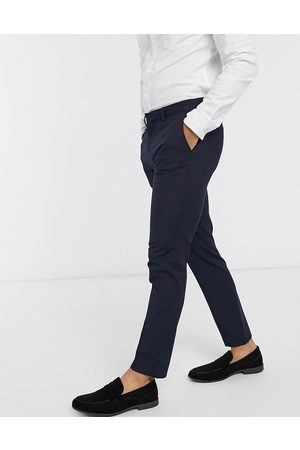 River Island Smart trousers in navy