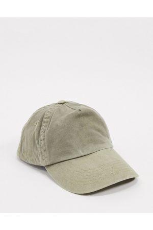 ASOS Baseball cap in washed khaki