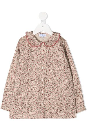 SIOLA Floral print long-sleeved shirt