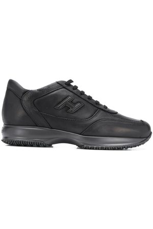 Hogan Low top lace trainers
