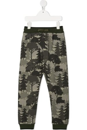 Dolce & Gabbana Forest-print track pants