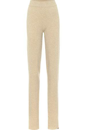 EXTREME CASHMERE Legs cashmere-blend lounge pants