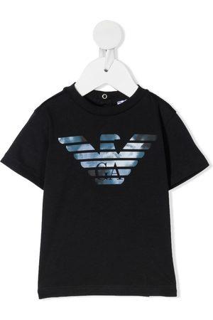 Emporio Armani Camiseta con logo estampado