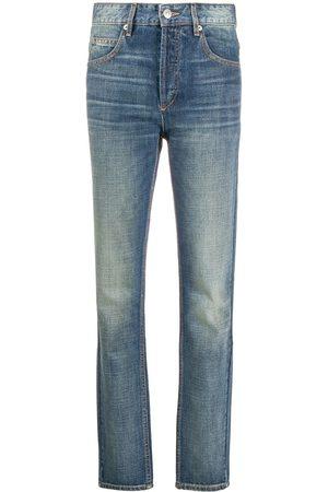 Isabel Marant Jeans rectos con tiro alto