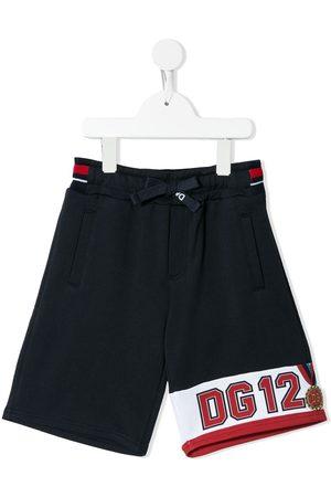 Dolce & Gabbana Pantalones cortos de deporte con logo