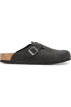 Birkenstock Boston side buckle slippers