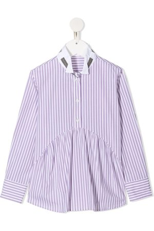 Brunello Cucinelli Candy stripe shirt