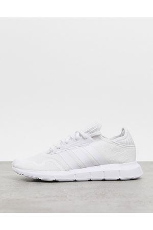 adidas Swift Run X trainers in triple white