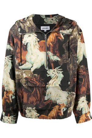 Kenzo Impermeable Chevaux