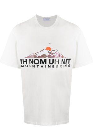 Ih Nom Uh Nit Playera con logo estampado