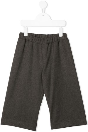 Piccola Ludo Pantalones anchos con pretina elástica