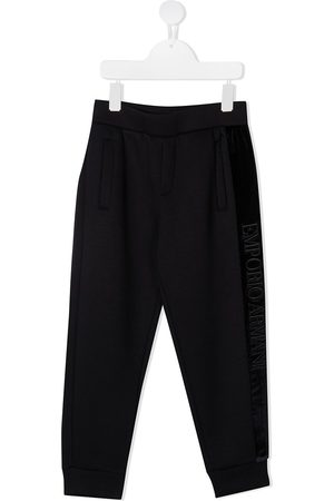 Emporio Armani Side-stripe track pants