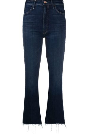Mother Cropped bootcut jeans