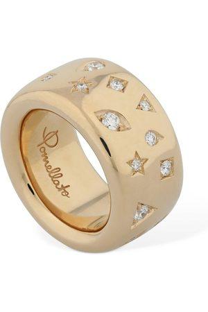 """Pomellato Anillo """"iconica"""" De Oro 18kt Y Diamantes"""