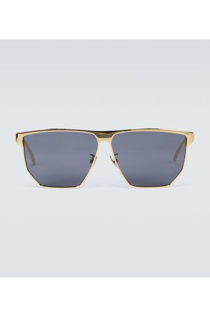 Bottega Veneta Metal-frame sunglasses