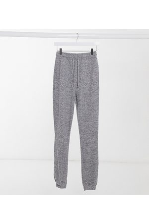 ASOS ASOS DESIGN Tall supersoft slim leg jogger in grey marl