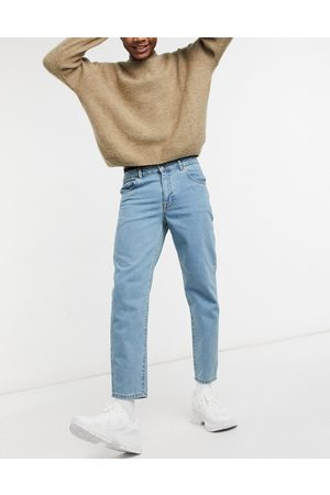 ASOS Classic rigid jeans in tinted light wash blue