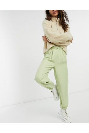 ASOS Tailored oversized suit trackpant in eau de nil