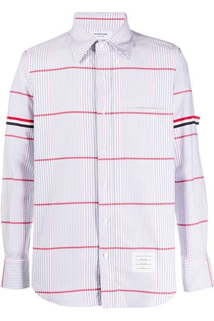 Thom Browne Hombre Camisas - Camisa oxford oversize a cuadros