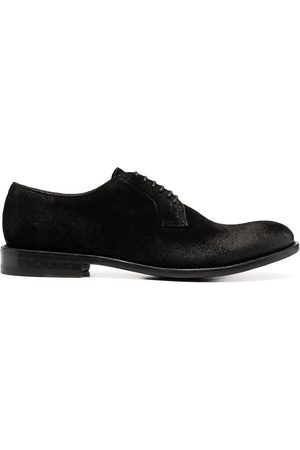 TAGLIATORE Lace-up leather derby shoes
