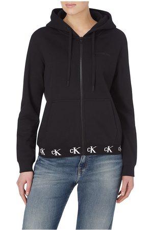 Calvin Klein Logo Trim Zip-through