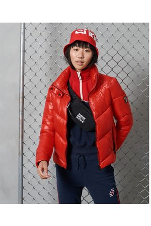 Superdry Chaqueta Brooklyn Padded S High Risk Red